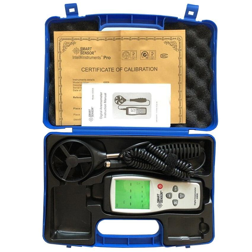 AS836 คุณภาพสูงมีใบรับรองการสอบเทียบ (Certificate of Calibration)