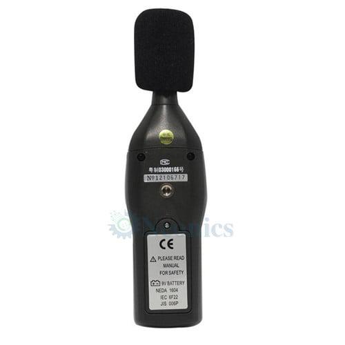 เครื่องวัดความดังเสียง Sound Level Meter จาก CEM รุ่น DT-805