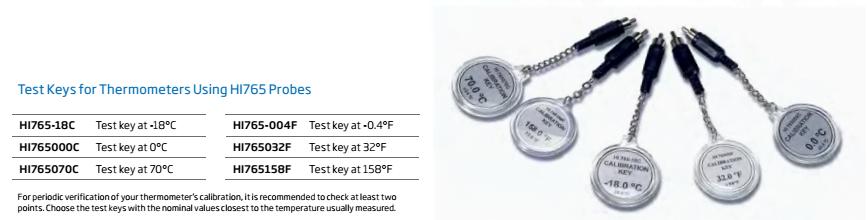 ชุดสอบเทียบสำหรับเครื่องวัดอุณหภูมิรุ่น HI9241