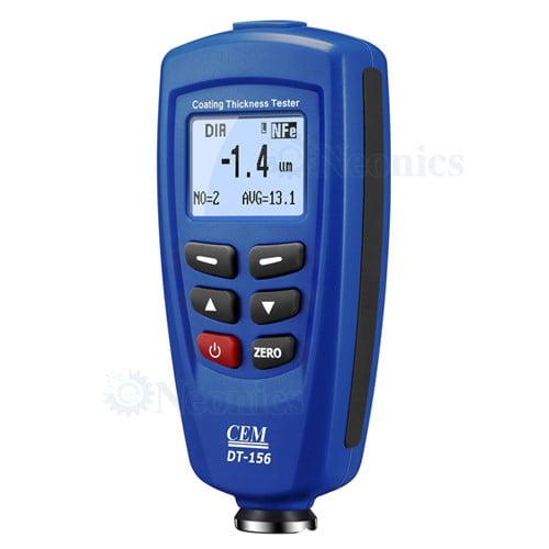 เครื่องวัดความหนาฟิล์ม สีและการเคลือบ โลหะและไม่ใช่โลหะ CEM รุ่น DT156