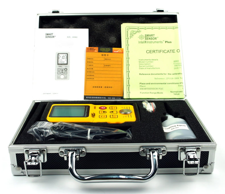 เครื่องวัดความหนาอัลตร้าโซนิค SmartSensor รุ่น AR860