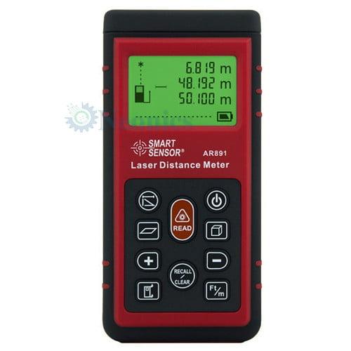 เครื่องวัดระยะเลเซอร์ Laser Distance Meter แบรนด์ SmartSensor รุ่น AR891