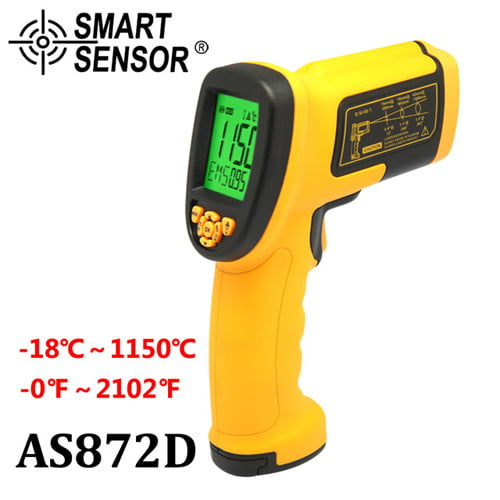 เครื่องวัดอุณหภูมิ Infrared Thermometer แบรนด์ SmartSensor รุ่น AS872D