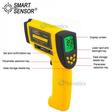เครื่องวัดอุณหภูมิ Infrared Thermometer แบรนด์ SmartSensor รุ่น AR882A+