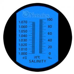 เครื่องวัดความเค็ม Salinity Refractometer รุ่น HT211ATC