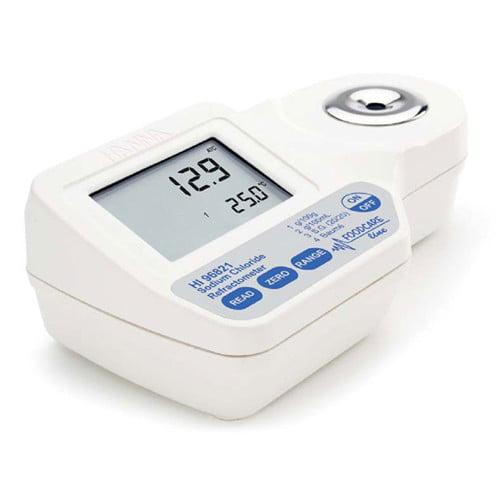 เครื่องวัดความเค็ม Salinity meter สำหรับอาหารรุ่น HI96821