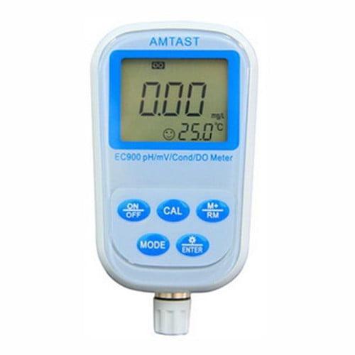 เครื่องวัด pH ORP EC TDS Salinity Resistivity DO Meter และอุณหภูมิรุ่น EC900