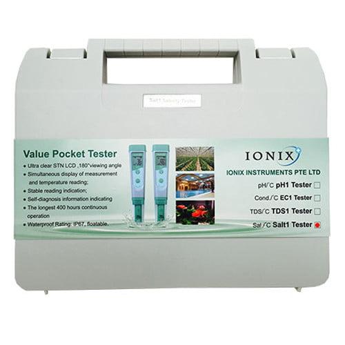 เครื่องวัดความเค็ม Salinity meter รุ่น Salt1 แบรนด์ Ionix