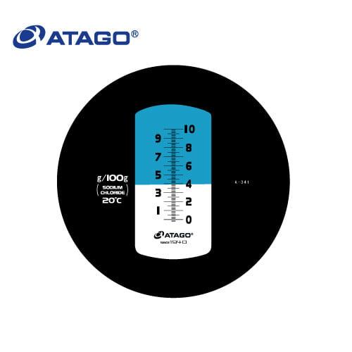 เครื่องวัดความเค็ม Sodium chloride Atago รุ่น MASTER-S10M