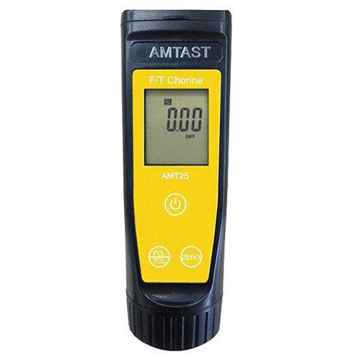 เครื่องวัดคลอรีนอิสระและคลอรีนรวม Free and Total Chlorine รุ่น AMT25