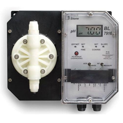 ปั๊มดูดสารเคมีและชุดควบคุมค่า pH Controller BL7916-2