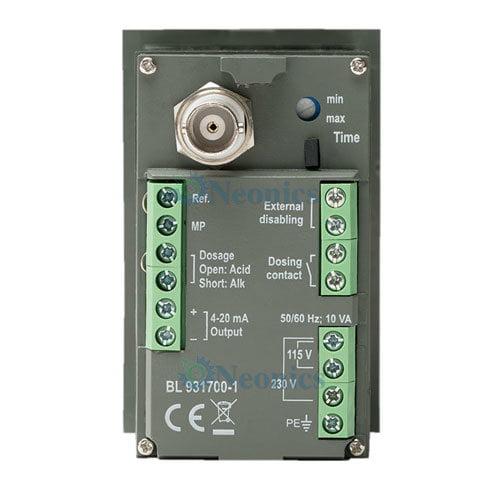 เครื่องวัดและควบคุมค่ากรดด่าง pH Controller รุ่น BL931700-1 Recorder Output