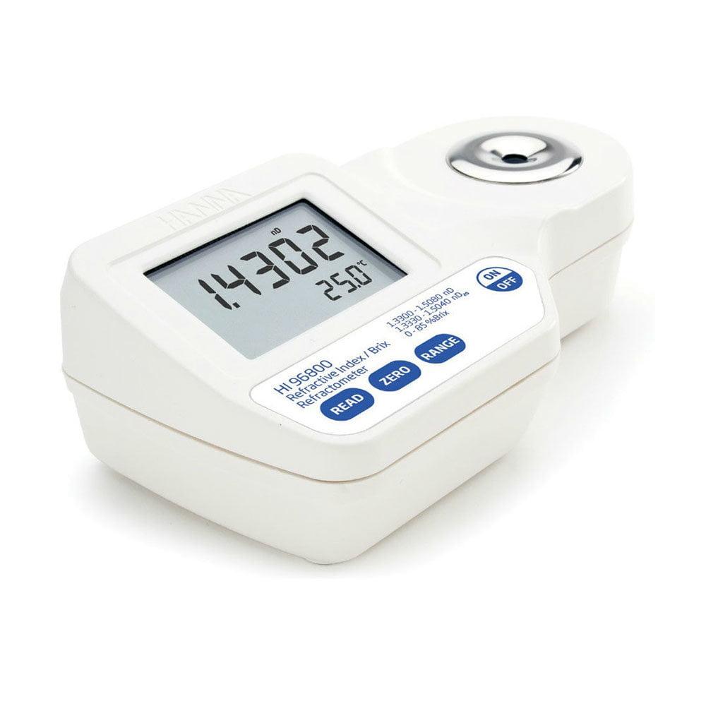 เครื่องวัดความหวาน Brix Refractometer แบบดิจิตอล HI96800 สำหรับ Food Grade