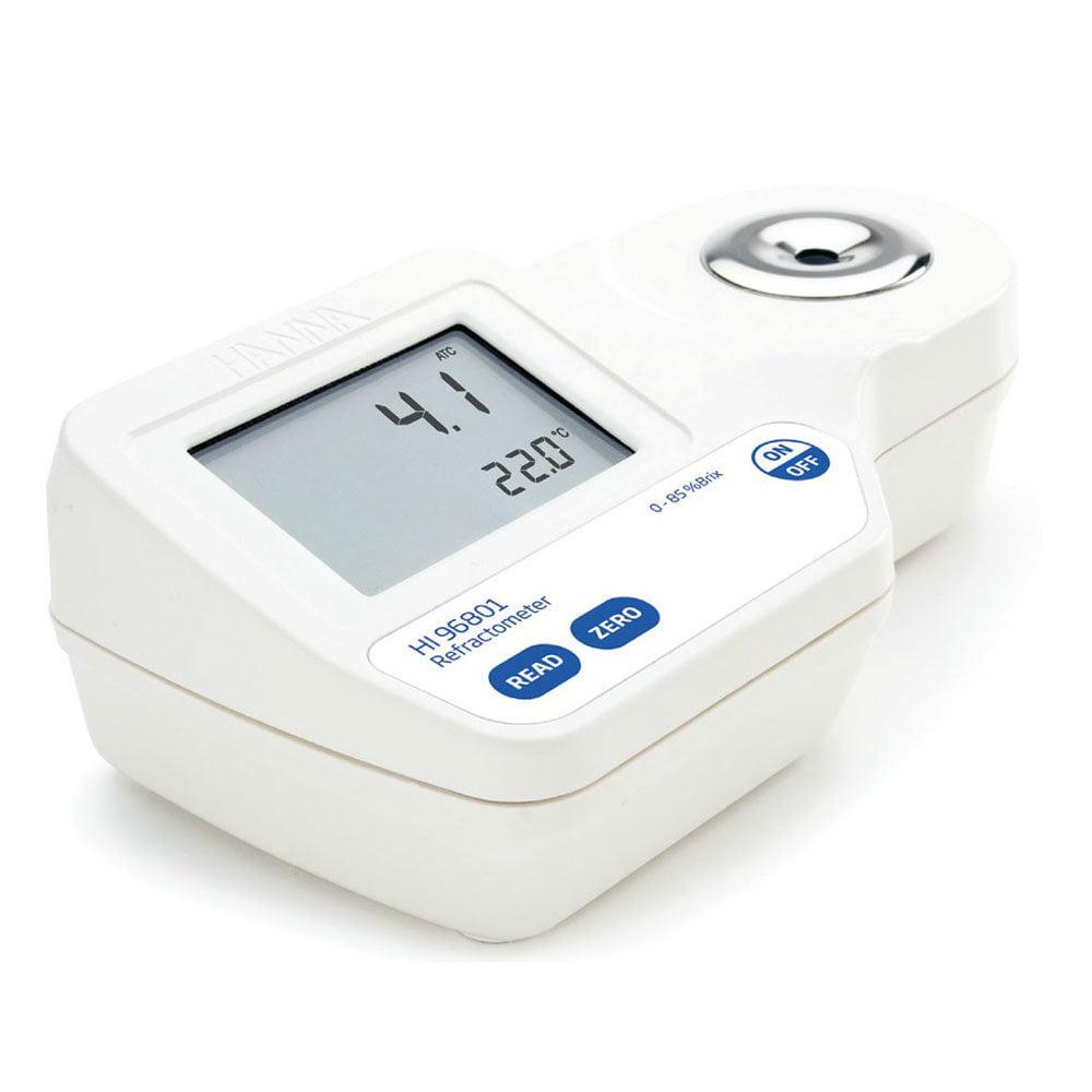 เครื่องวัดความหวาน Brix Refractometer แบบดิจิตอล HI96801