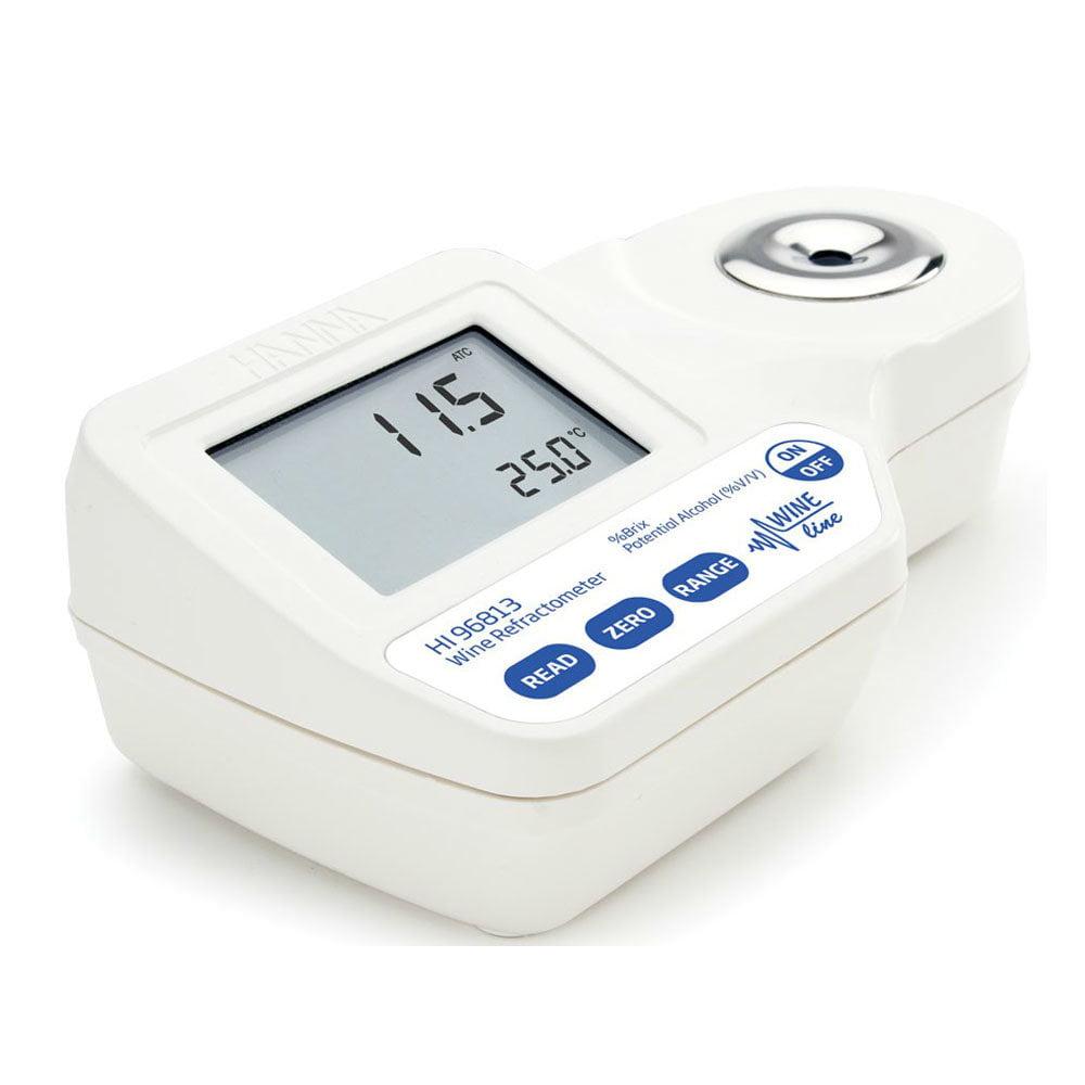 เครื่องวัดความหวาน Brix Refractometer และ Potential Alcohol รุ่น HI96813