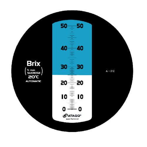 เครื่องวัดความหวาน Brix Refractometer 0-50Brix Atago รุ่น MASTER-50H