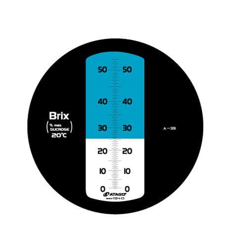 เครื่องวัดความหวาน Brix Refractometer 0-53%Brix Atago รุ่น MASTER-53M