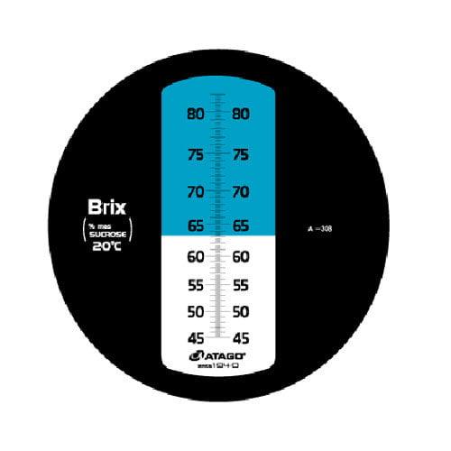เครื่องวัดความหวาน Brix Refractometer 45-82%Brix Atago รุ่น MASTER-4M