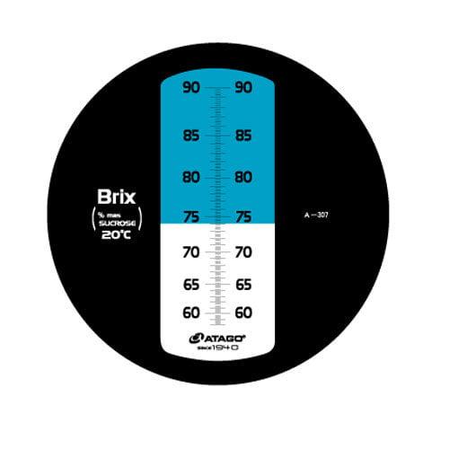 เครื่องวัดความหวาน Brix Refractometer 58-90%Brix Atago รุ่น MASTER-3M