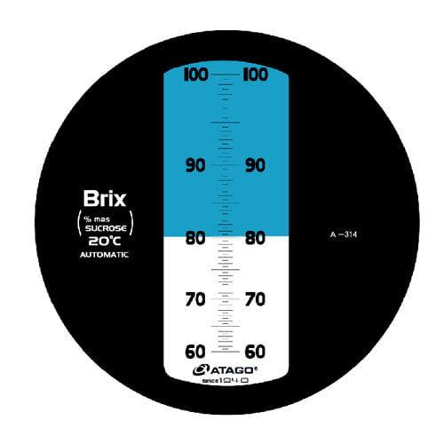 เครื่องวัดความหวาน Brix Refractometer 60-100Brix Atago รุ่น MASTER-100H