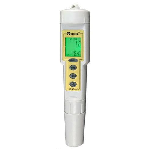 เครื่องวัด pH EC Meter และอุณหภูมิรุ่น CT-6321