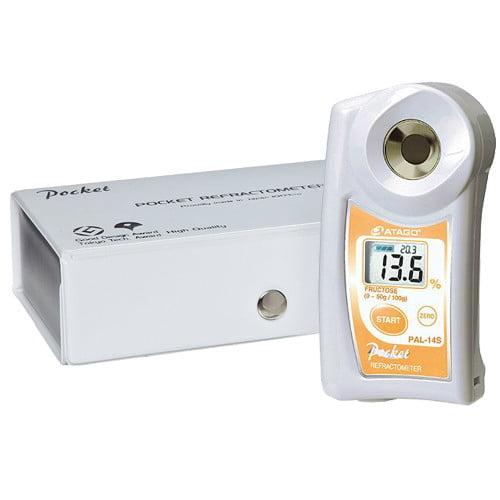 เครื่องวัดน้ำตาลฟรุกโตส Fructose Refractometer แบบดิจิตอลรุ่น PAL-14S