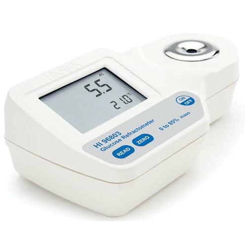 เครื่องวัดน้ำตาลกลูโคส Glucose Refractometer แบบดิจิตอล HI96803