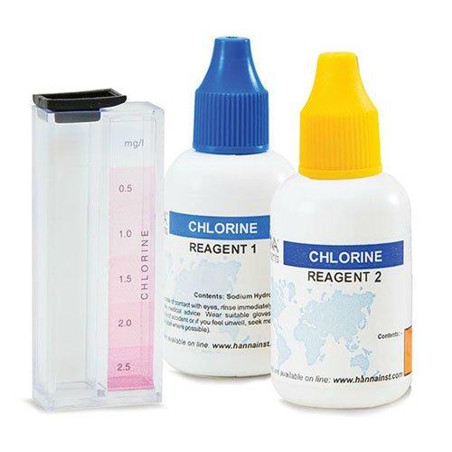 ชุดทดสอบคลอรีนอิสระ Free Chlorine HI3831F
