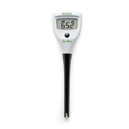 เครื่องวัดค่าความเป็นกรด ด่าง pH Meter แบบปากกาสำหรับไฮโดรโปนิกส์ GroLine HI98115