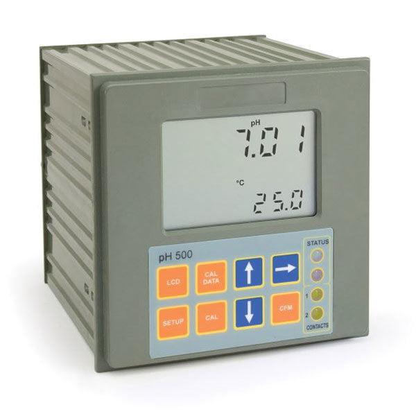 เครื่องวัดและควบคุมค่ากรดด่าง pH Controller รุ่น PH500 Series