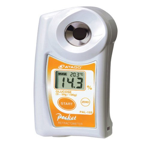 เครื่องวัดน้ำตาลกลูโคส Glucose Refractometer แบบดิจิตอลรุ่น PAL-15S