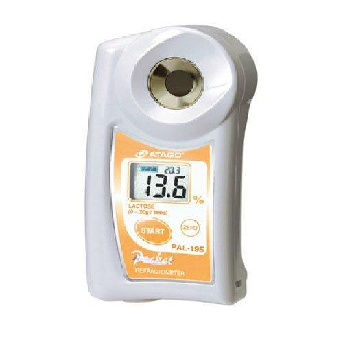 เครื่องวัดน้ำตาลแลคโตส Lactose Refractometer แบบดิจิตอลรุ่น PAL-19S
