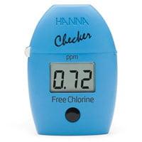 วัด Free chlorine