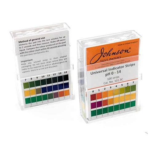 กระดาษทดสอบ PH ย่าน 0-14 แบรนด์ Johnson