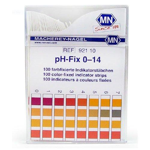 กระดาษลิตมัสวัดค่าpH ชนิด 4แถบวัดย่าน 0-14pH แบรนด์ MN
