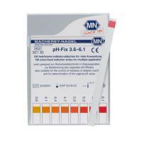กระดาษลิตมัสวัดค่า pH ชนิด 1แถบวัดย่าน 3.6-6.1pH แบรนด์ MN