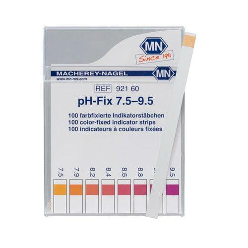 กระดาษลิตมัสวัดค่า pH ชนิด 1แถบวัดย่าน 7.5-9.5pH แบรนด์ MN