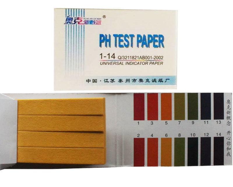 กระดาษลิตมัส วัดค่าpH 1-14pH