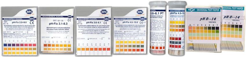 กระดาษวัดค่า pH ขายราคาถูก