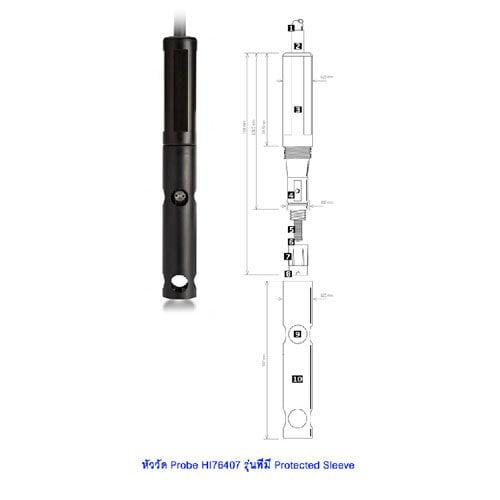 หัววัด Probe HI76407 ชนิด Polarographic Electrode สำหรับเครื่องวัดปริมาณออกซิเจน