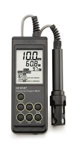 เครื่องวัดปริมาณออกซิเจนในน้ำ DO Meter รุ่น HI9147