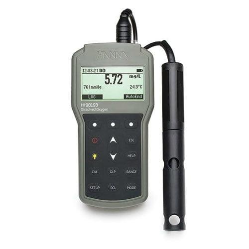 เครื่องวัดปริมาณออกซิเจนในน้ำ DO Meter และ BOD Meter รุ่น HI98193