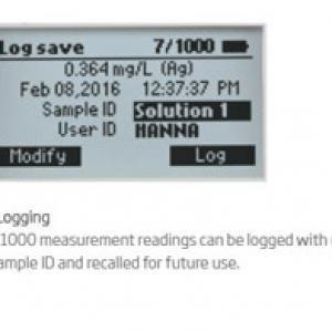 เครื่องวัด COD และวัดปริมาณสารละลายในน้ำรุ่น HI83314