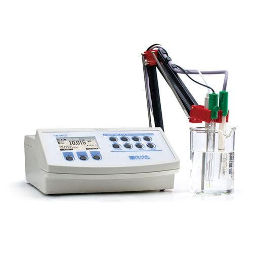 เครื่องวัด pH ORP ISE EC TDS NaCl Temp จาก Hanna รุ่น HI3512