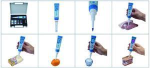 เครื่องวัด pH ORP Meter และอุณหภูมิ จาก Ionix รุ่น pH5S หัววัดปลายแหลม