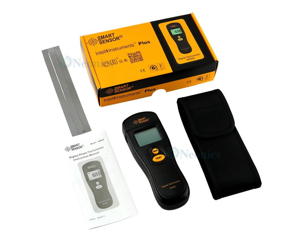 เครื่องวัดความเร็วรอบ AR926 เเบรนด์ SmartSensor Non-contact Tachometer