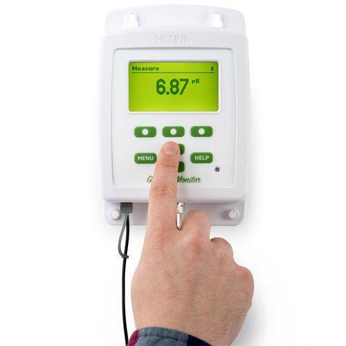 เครื่องวัดค่า-pH-EC-TDS-อุณหภูมิ-Datalogger-ไฮโดรโปนิกส์-รุ่น-HI981420