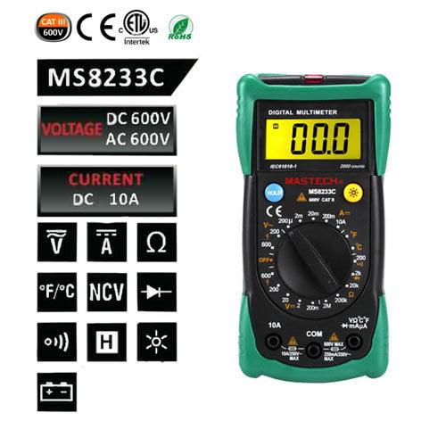 เครื่องมัลติมิเตอร์-MS8233C