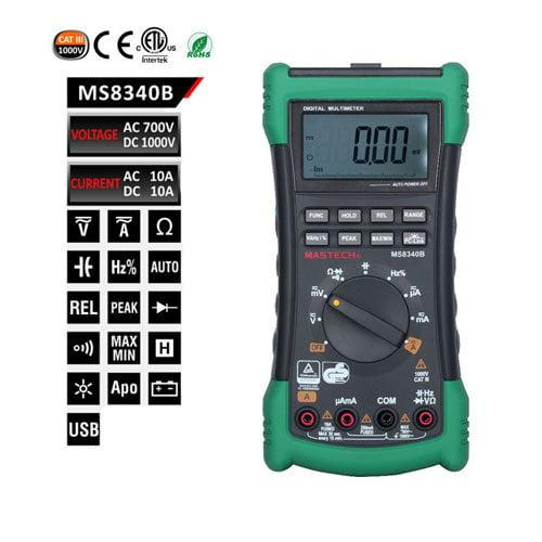 เครื่องมัลติมิเตอร์-MS8340B