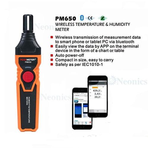 เครื่องวัดความชื้น-PM650